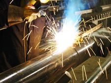 Pressure-pipe fabrication