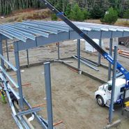 structural steel building