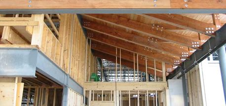 We provided mechanical services for Nisga'a Museum in Kitimat